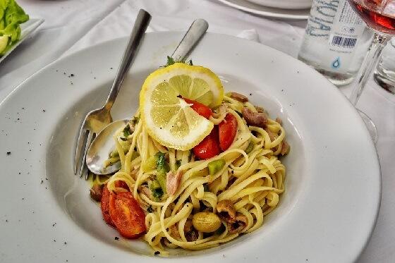 Pasta Al Tonno: Italian Jackfruit 'Tuna' Pasta [Vegan, Grain-Free]