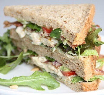 Lemon-Pepper Tuna Sandwiches