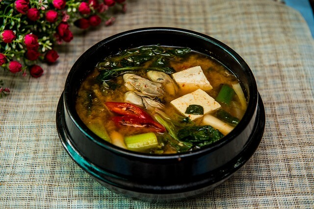 Zucchini and Edamame Miso Soup [Vegan, Grain-Free]