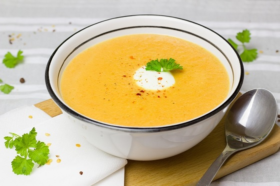 Coconut Curried Carrot Soup [Vegan, Gluten-Free]